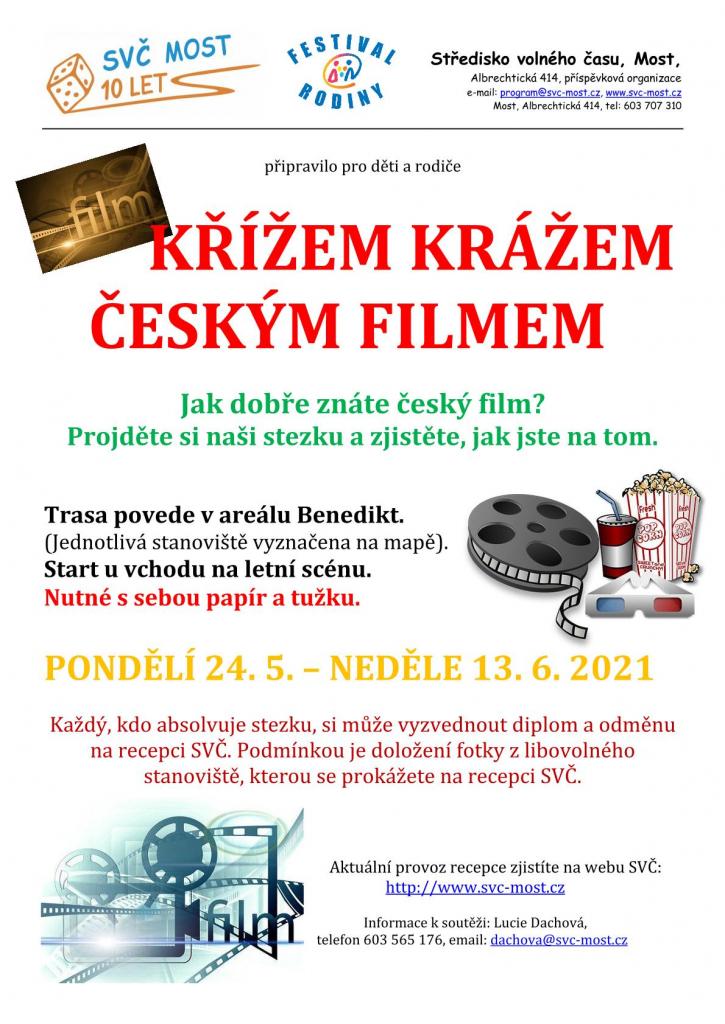 Křížem krážem českým filmem