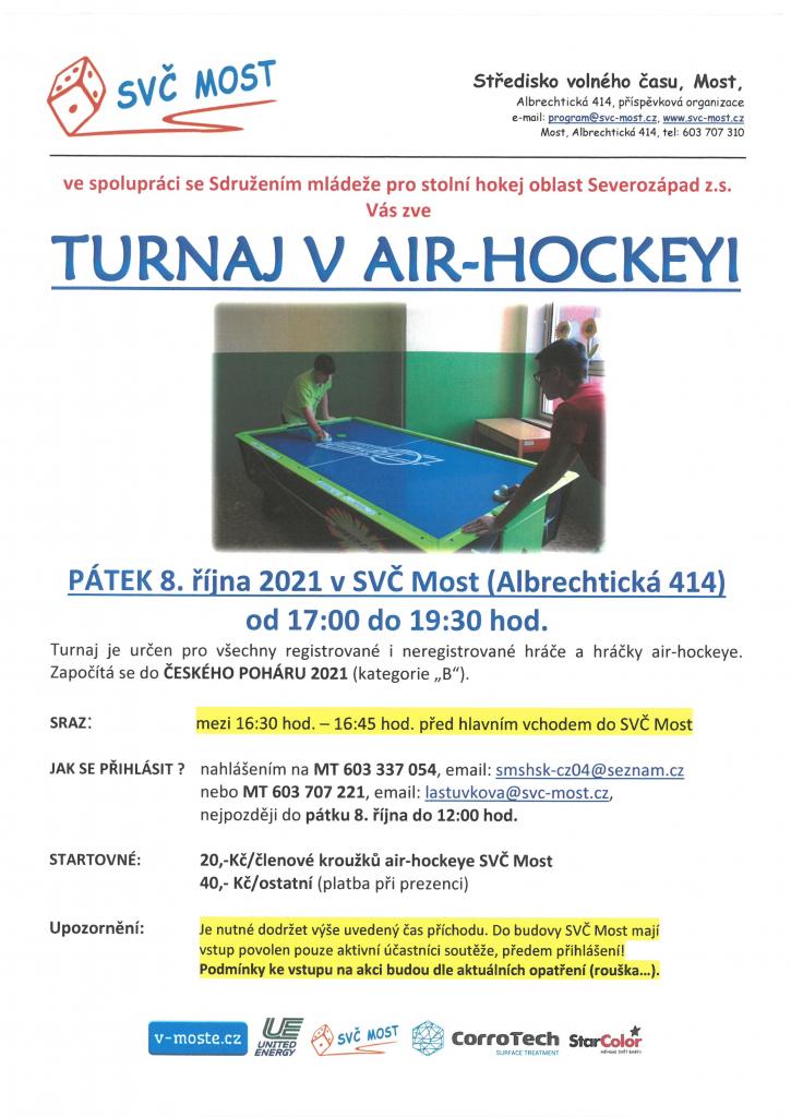 Turnaj v air-hockeyi