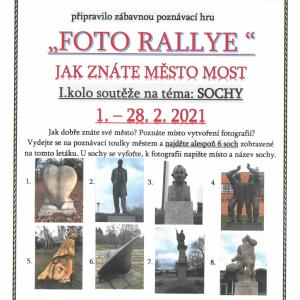 Foto rallye - jak znáte město Most?