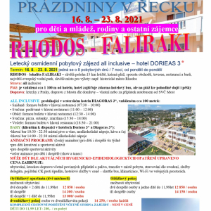 Řecko Rhodos-Faliraki