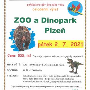 ZOO a Dinopark Plzeň