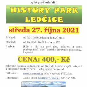 Výlet - History park Ledčice