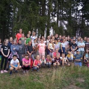 Letní tábor v Janově nad Nisou 2020 - s Ájou